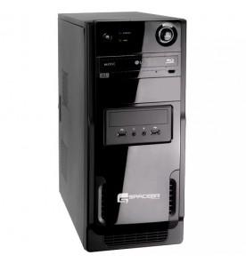 Computador Space BR P7550X2-LN - Preto - AMD Athlon - RAM 4GB - HD 320GB - Linux Ubuntu
