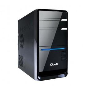 Computador Desktop QBEX UPDA1B5560816X - Preto - Intel Celeron E3400 - RAM 4GB - HD 500GB - Linux