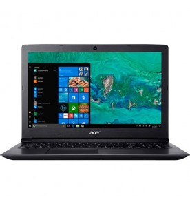 "Notebook Acer Aspire 3 A315-53-C6CS - Preto - Intel Core i5-8250U - RAM 4GB - HD 1TB - Tela 15.6"" - Windows 10"
