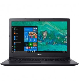 "Notebook Acer A315-53-C5X2 - Preto - Intel Core i5-8250U - RAM 8GB - HD 1TB - Tela 15.6"" - Windows 10"