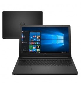"Notebook Dell Inspiron I15-5566-A50P - Preto - Intel Core i7-7500U - RAM 8GB - HD 1TB - Tela 15.6"" - Windows 10"