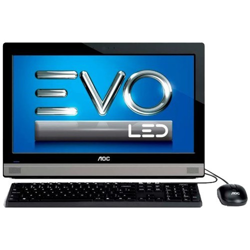 "Computador AOC All in One Evo 20A25U-J1750 - Intel Celeron J1750 - RAM 2GB - HD 500GB - Tela 19.5"" - Windows 8.1"