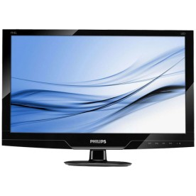 "Monitor Philips 191EL2 LED 18.5"" - Preto - DVI-D - VGA"