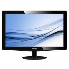 "Monitor Philips 196V3LSB LED 18.5"" - Preto - DVI - VGA"