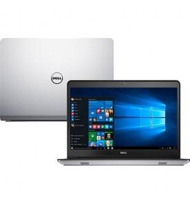 "Notebook Dell Inspiron I14-5448 - Touch - Intel Core i7-5500U - AMD Radeon - RAM 8GB - HD 1TB - SSD 8GB - LED 14"" - Windows 10"