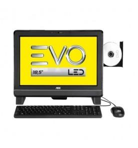 """Computador All In One AOC EVO 9525U-W8SL - Preto - AMD E1-1200 - RAM 2GB - HD 500GB - Tela 18.5"""" - Windows 8"""
