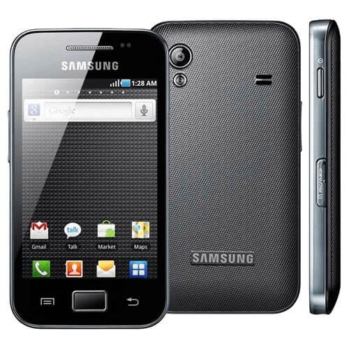 "Smartphone Samsung Galaxy Ace GT-S5830 - Preto - 3G - 5MP - Android 2.2 - Tela 3.5"" - Desbloqueado"