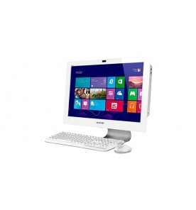 "Computador All In One CCE SOLOA45BR - Branco - Intel Core Celeron 847 - RAM 4GB - HD 500GB - Tela 24"" - Windows 8.1"