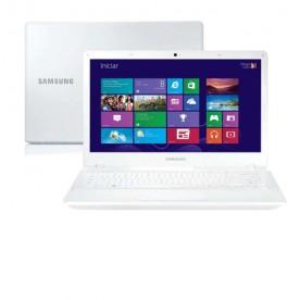 "Notebook Samsung ATIV Book 2 270E4E-KD3BR - Branco - Intel Core i3-3120M - RAM 4GB - HD 500GB - Tela 14"" - Windows 8"