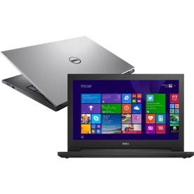 "Notebook Dell Inspiron i15-3543-A30 - Prata - Intel Core i5-5200U - RAM 4GB - HD 1TB - Tela 15.6"" - Windows 8"