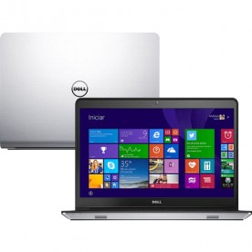 "Notebook Dell Inspiron i14-5448-B10 - Prata - Intel Core i5-5200U - RAM 4GB - HD 1TB - Tela 14"" - Windows 8.1"