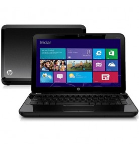 "Notebook HP Pavilion G4-2214BR - Branco - AMD A6-4400M - RAM 2GB - HD 500GB - Tela 14"" - Windows 7 Home Premium"