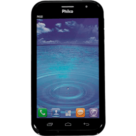 "Smartphone Philco Phone 501 - 3G - TV Digital - Dual Chip - Tela de 5"" - 8MP - Android 4.1 - Preto"