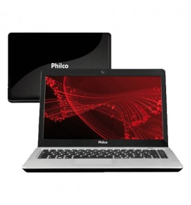 "Notebook Philco 14M-S723LM - Cinza - AMD C-Series - RAM 2GB - HD 320GB - Tela 14"" - Linux Mandriva"