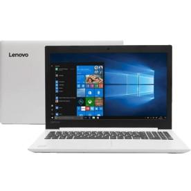 "Notebook Lenovo IdeaPad 330 81FE000EBR - Branco - Intel Core i5-8250U - RAM 4GB - HD 1TB - Tela 15.6"" - Windows 10"