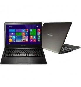 "Ultrabook Positivo X8000 - Preto - Intel Core i3-2377M - SSD 30GB - RAM 4GB - HD 500GB - Tela 14"" - Windows 8"