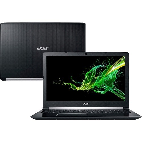 "Notebook Acer Aspire 5 A515-51-C0ZG - Preto - Intel Core i7-8550U - RAM 8GB - HD 1TB - Tela 15.6"" - Endless OS Linux"