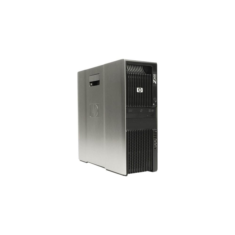 Workstation HP Z600 - Preto - Intel Xeon E5620 - RAM 4GB - HD 500GB - Nvidia Quadro FX 3800 - Windows 7 Pro