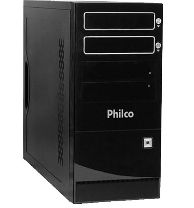 Computador Desktop Philco DTC-P744LM - AMD Phenom Z550 - RAM 4GB - HD 320GB - Linux