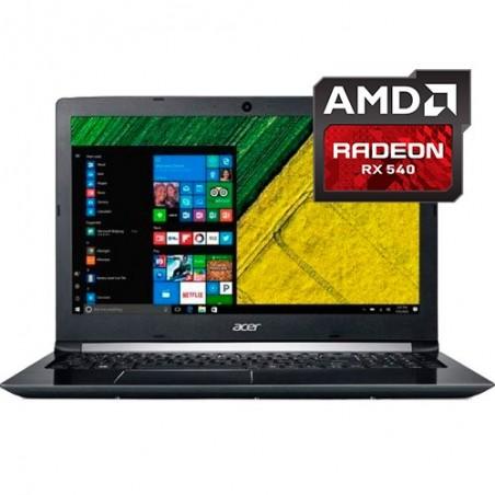 """Notebook Acer Aspire 5 A515-41G-13U1 - AMD A12-9720P - RAM 8GB - HD 1TB - AMD Radeon RX 540 - Tela 15.6"""" - Windows 10"""