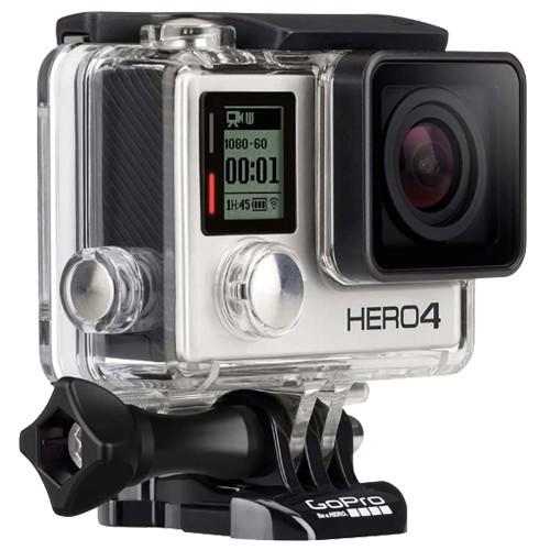Câmera Digital GoPro Hero 4 Adventure - Silver - 12MP - 4K - Bluetooth - Wi-Fi