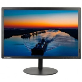 "Monitor Lenovo ThinkVision T2254P LED 22"" Wide 60E1MAR2US - Preto - 1680 x 1050 - HDMI - VGA"