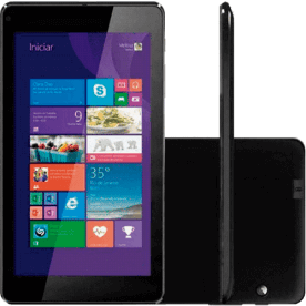 "Tablet CCE Motion Tab TF74W - Quad Core 1.33GHz - 16GB - Câmera 2MP - Micro USB - Wi-Fi - Tela 7"" - Windows 8.1"