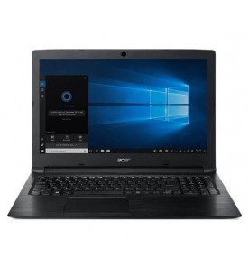 "Notebook Acer Aspire 3 A315-53-P884 - Preto - Quad Core Gold 4417U - RAM 4GB - HD 500GB - Tela 15.6"" - Windows 10"