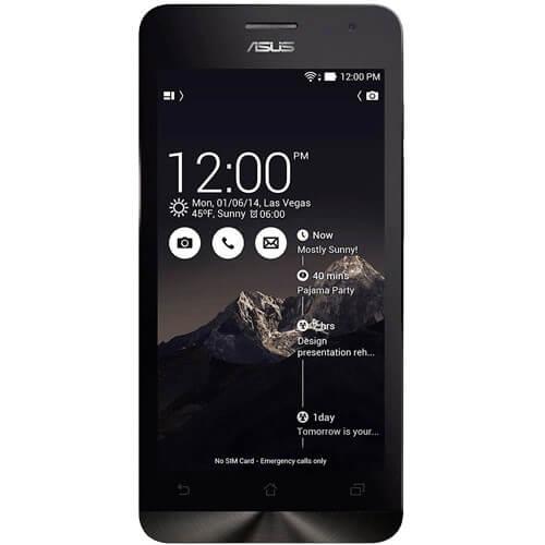 "Smartphone ZenFone 6 Asus A601CG-2A068BR Preto - 32GB - Intel Atom Z2560 1.6 GHz - Dual SIM - RAM 2GB - Tela 6"" - Android 4.4"