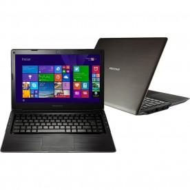 "Notebook Positivo Ultra X8600 - Preto - Intel Core i5-3317U - RAM 8GB - HD 500GB - Tela 14"" - Windows 8"
