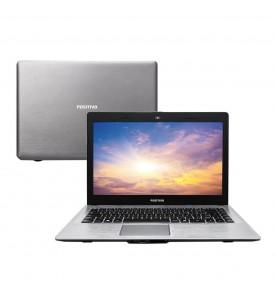 "Notebook Positivo Premium XRI7150 - Cinza - Intel Core i3-4005U - RAM 4GB - HD 500GB - Tela 14"" - Linux"