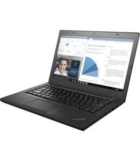 "Notebook Lenovo ThinkPad T460S-20FAA0CUBR - Preto - Intel Core i5-6300U - RAM 8GB - SSD 256GB - Tela 14"" - Windows 10 Pro"