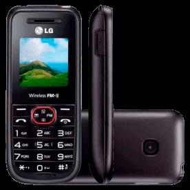 "Celular LG A180 - 128 x 128 - Tela TFT 1.5"" - Grafite"