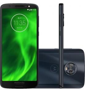 "Smartphone Motorola Moto G6 - Indigo - 32GB - RAM 3GB - Octa Core - 4G - 12MP - Tela 5.7"" - Android 9"