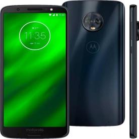 """Smartphone Motorola Moto G6 Plus - Indigo - 64GB - RAM 4GB - Octa Core - 4G - 12MP - Tela 5.9"""" - Android 9"""