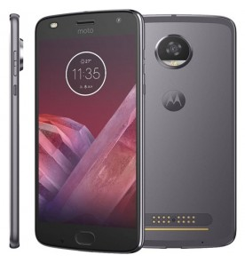 "Smartphone Moto Z2 Play - Platinum - 64GB - RAM 4GB - Octa Core - 4G - 12MP - Tela 5.5"" - Android 7.1"