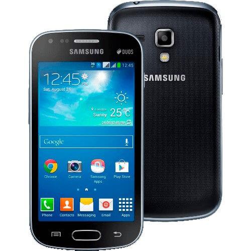 "Smartphone Samsung Galaxy S Duos 2 S7582 Preto - Dual Chip - Câmera 5MP - Tela 4"" - Dual Core - Android 4.2"