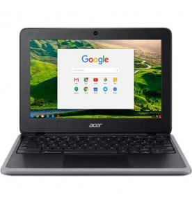 "Acer Chromebook C733T-C0QD - Preto - Intel Celeron N4000 - RAM 4GB - HD 32GB - Tela 11.6"" - Chrome OS"