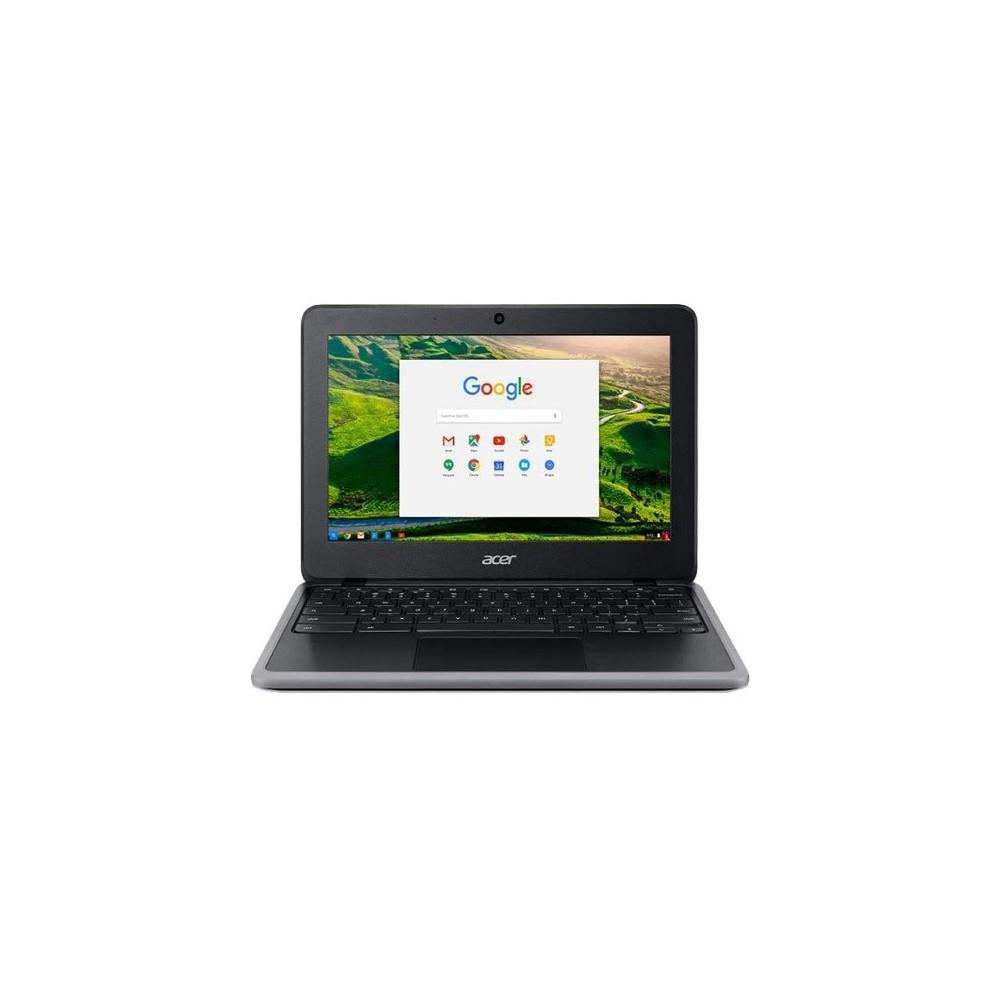 "Acer Chromebook C733T-C0QD - Preto - Intel Celeron N4000 - RAM 4GB - HD 32GB - Tela 11.6"" - Chrome OS"