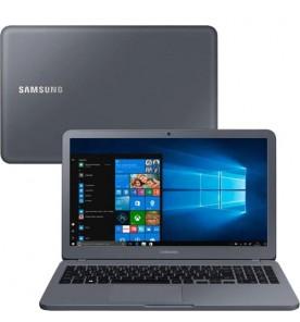 "Notebook Samsung Expert NP350XAA-JD1BR - Cinza - Intel Core i5-7200U - RAM 8GB - HD 1TB - Tela 15.6"" - Windows 10"