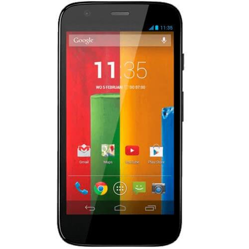 "Smartphone Motorola Moto G XT1033 Preto - 16GB - 3G - 5MP - Tela 4.5"" - Android 4.3"