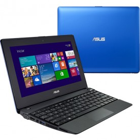 "Notebook Asus Azul X102BA-DF043H - Azul - AMD A4-1200 - RAM 2GB - HD 320GB - Tela 10.1"" Touchscreen - Windows 8"