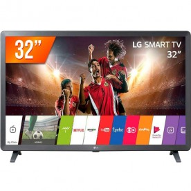 "Smart TV Pro LED 32"" LG 32LK611C - HDR - HDMI - USB - Wi-Fi - WebOS 4.1 - Conversor Digital"