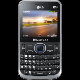 """Celular LG C397 - Dual Chip - Teclado Qwerty - Wi-Fi - Tela de 2.3"""" - Câmera de 2MP"""