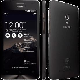"Smartphone ZenFone 5 ASUS Preto - 8GB - Intel 1.2 GHz - A501CG-2A480BRA - Dual SIM - Câmera 8MP - Tela 5"" - Android 4.3"