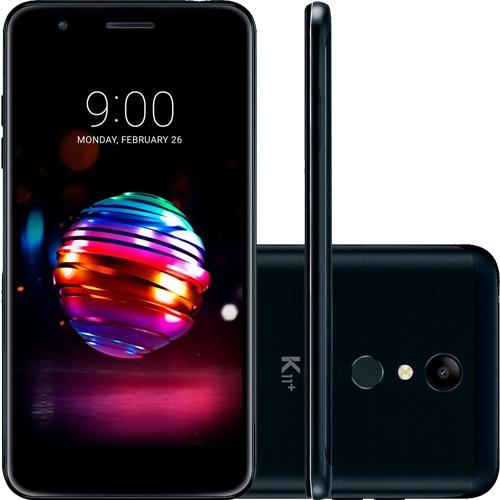 "Smartphone LG K11+ - Preto - 32GB - RAM 3GB - Octa Core - 4G - 13MP - Tela 5.3"" - Android 7.1"