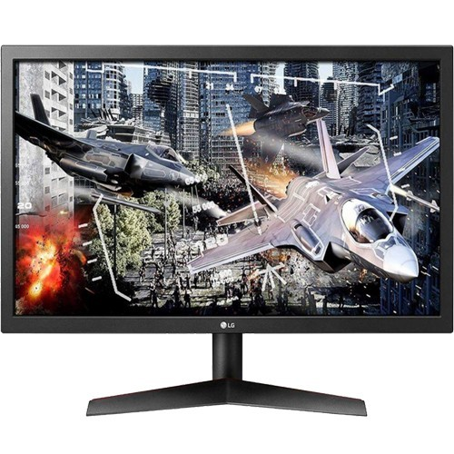 "Monitor Gamer LG 24GL600F - Preto - Tela 24"" - 144Hz - 1ms - FreeSync - HDMI/Display Port"
