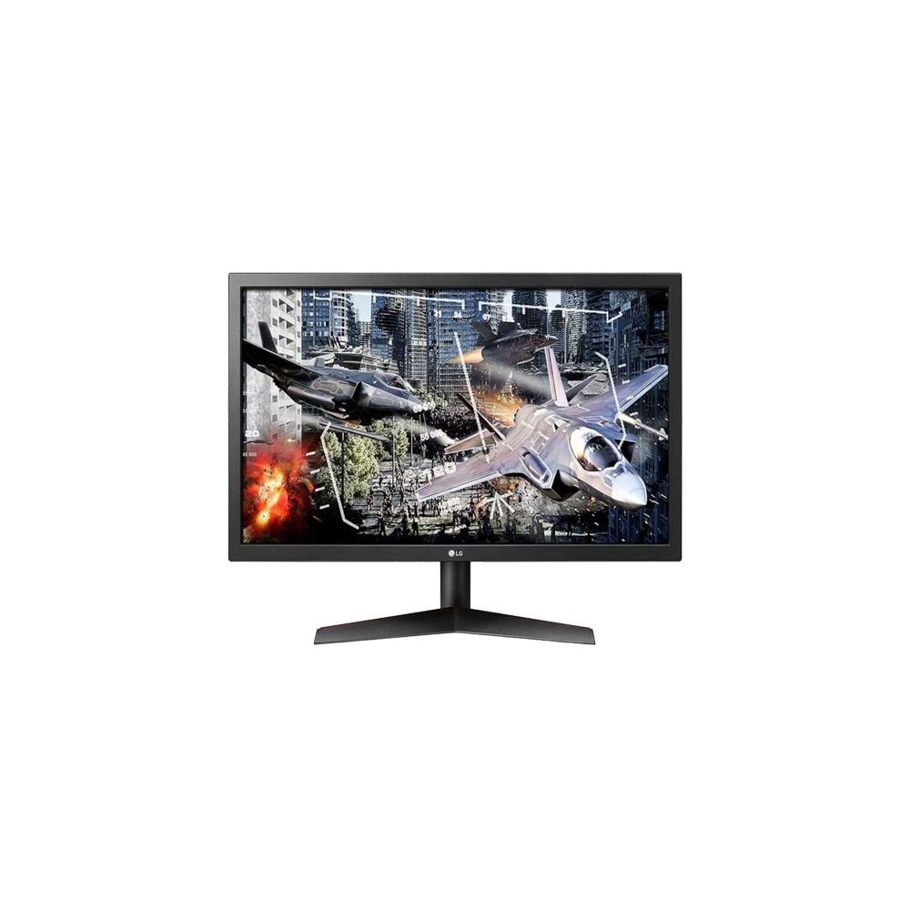 "Monitor Gamer LG 24GL600F - Preto - Tela 24"" - 144Hz - 1ms - FreeSync - HDMI/Display Port"
