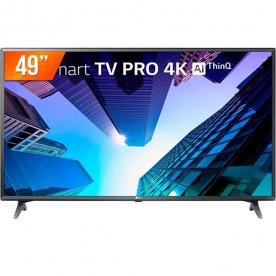 "Smart TV LED Pro LG 49"" 49UM731C0SA - Ultra 4K HD - HDMI - USB - Wi-Fi - ThinQ AI - Conversor Digitial"
