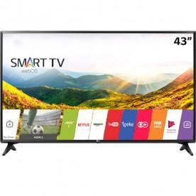 "Smart TV LED 43"" LG 43LJ5500 - Full HD - HDMI - USB - Wi-Fi - WebOS 3.5 - Conversor Digital"